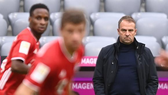 Flick dirige Bayern Munich desde la temporada 2019. (Foto: AFP)