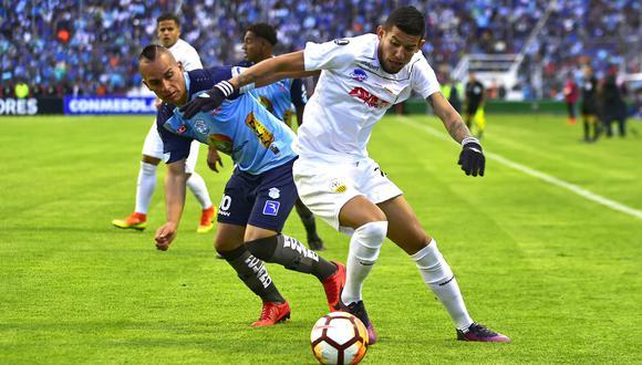 Marcará recibirá a Táchira este lunes (6:00 p.m. EN VIVO por FOX Sports 3) por la primera ronda del torneo en el Estadio Bellavista de Ambato. (Foto: El Universo)