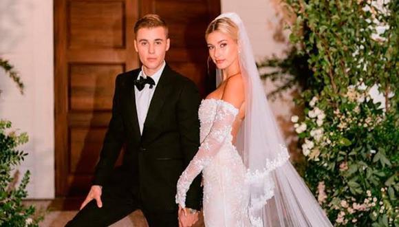 Justin Bieber y Hailey Baldwin se casaron por civil a mediados del 2018 y por religioso el 30 de septiembre del 2019