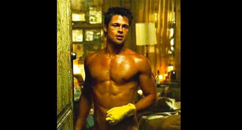 """En 1999 Pitt personificó a Tyler Durden, un joven intransigente y carismático, en """"Fight Club"""". (Foto: Difusión)"""