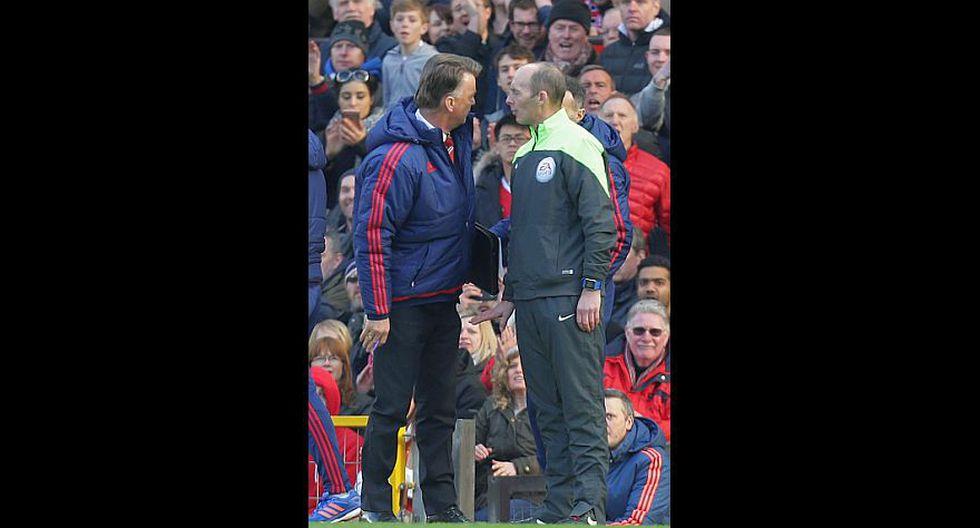 Louis van Gaal y su show en el triunfo del Manchester United - 3