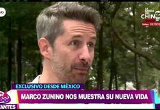 Marco Zunino revela detalles de su nueva vida en México