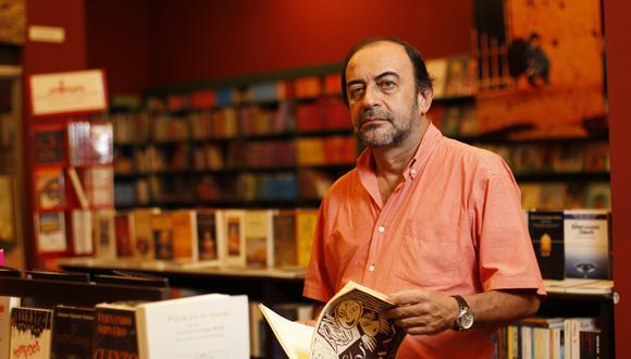 """Guillermo Niño de Guzmán, narrador y periodista peruano. Es autor de la novela """"Caballos de medianoche"""". (Foto: Percy Ramírez / Archivo El Comercio)"""