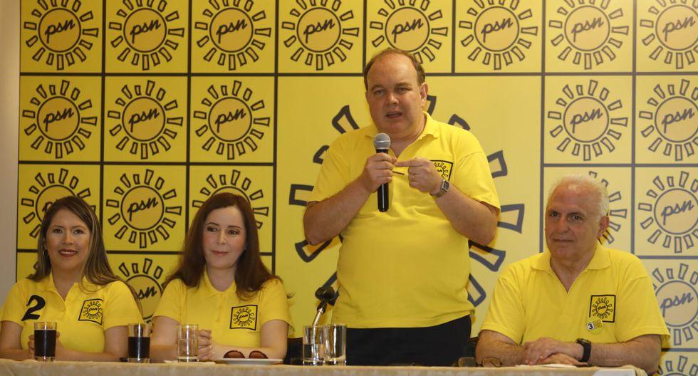 Solidaridad Nacional, cuyo secretario general es Rafael López Aliaga, apeló resolución del JEE (Foto: GEC)