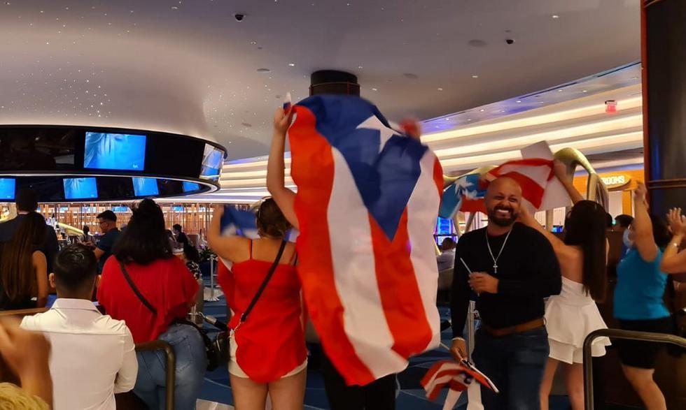 El evento se celebra en el  Seminole Hard Rock Hotel & Casino de Hollywood, al norte de Miami, con la presencia de varios latinoamericanos que apoyan a sus candidatas. (Foto: Miguel Navarro)