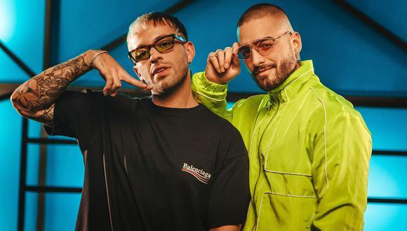 "Feid y Maluma se vuelven a unir para ""Porfa (remix)"" . (Foto: Universal Music)"