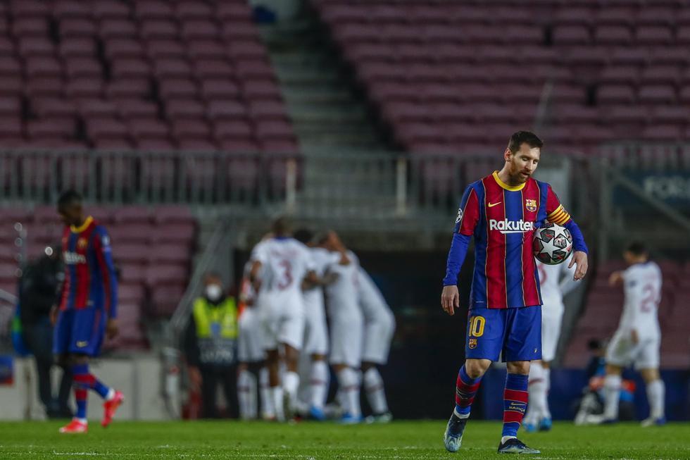 PSG visitó al Barcelona por la ida de los octavos de final de la Champions League