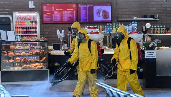 Coronavirus en Rusia   Últimas noticias   Último minuto: reporte de infectados y muertos lunes 26 de octubre del 2020   (Foto: Kirill KUDRYAVTSEV / AFP).