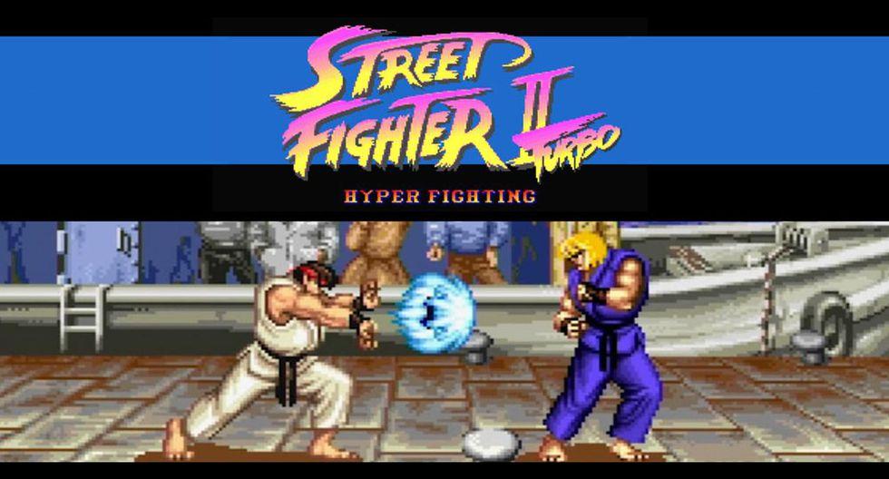 """""""Street Fighter II Turbo: Hyper Fighting"""""""