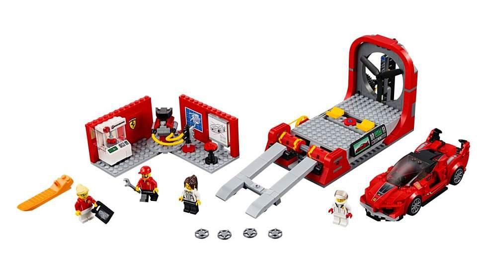Bugatti Chiron y Ferrari FXX K: los nuevos sets de Lego - 3