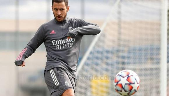 Eden Hazard tiene contrato en Real Madrid hasta mediados del 2024. (Foto: AFP)