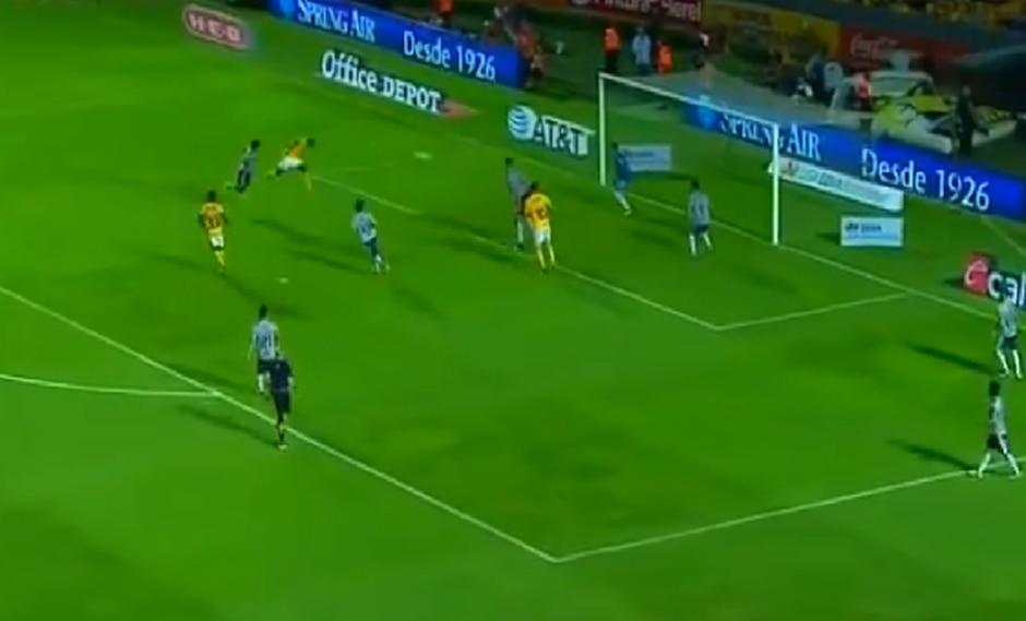 Enner Valencia liquidó el partido entre Tigres y Atlas | Fuente: captura