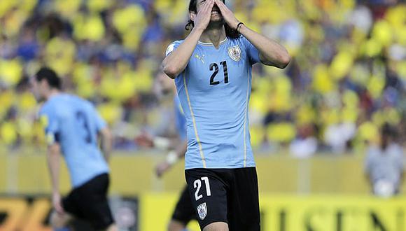 Uruguay cayó en casa 2-0 por la fecha 4 de Eliminatorias.