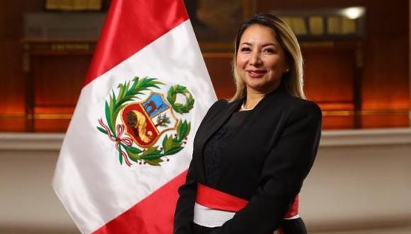 Rocío Barrios ha sido presidenta ejecutiva del Inacal desde el 2015.