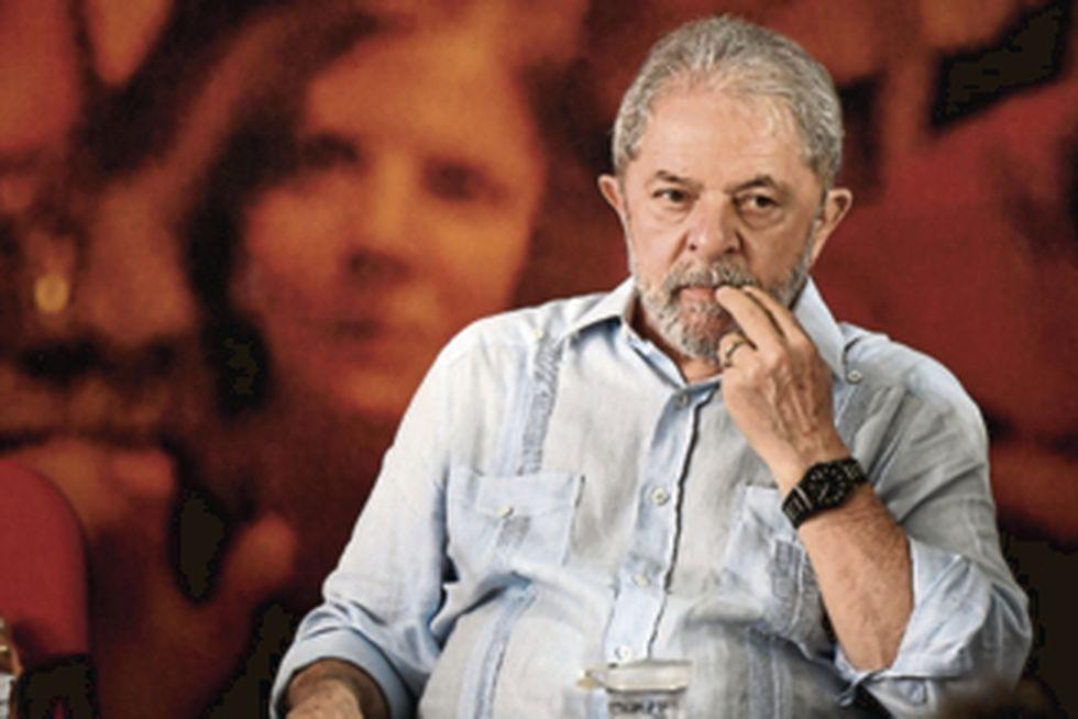 Luiz Inácio Lula da Silva, expresidente de Brasil que se encuentra preso en Curitiba. (Foto: AFP)