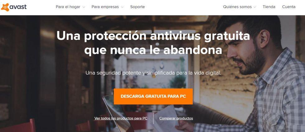 Descargar antivirus gratuito - AVS