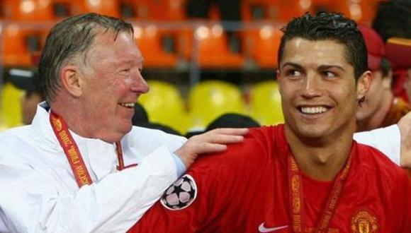 Charla con Sir Alex Ferguson convenció a Cristiano Ronaldo de fichar por el Manchester United