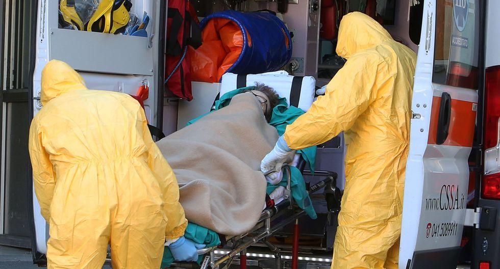 Una mujer de la región de Lombardía, en Italia, murió después de ser infectada con el coronavirus. (EFE / EPA / NICOLA FOSSELLA).