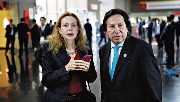 Alejandro Toledo y su esposa Eliane Karp se encuentran prófugos de la justicia en Estados Unidos. (Foto: Alonso Chero/ Archivo El Comercio)