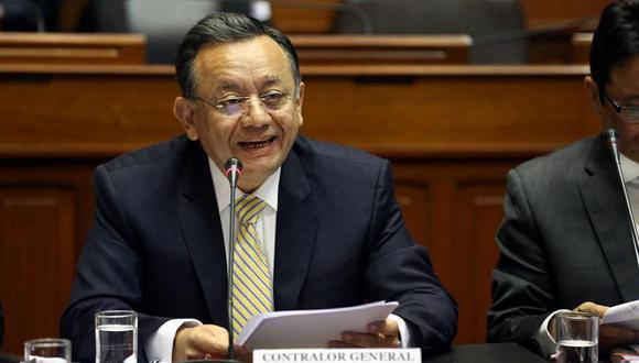 El texto sustitutorio final sobre las declaraciones juradas de intereses fue elaborado y presentado ante el pleno del Congreso por Edgar Alarcón (Unión por el Perú, Arequipa), presidente de la Comisión de Fiscalización. (Foto: GEC)