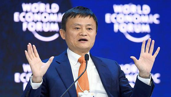 Jack Ma es considerado una de las personas más ricas de China con un patrimonio neto de  36,600 millones de dólares. (Foto: AFP)
