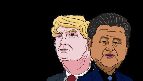 Ambos países firmaron este miércoles 15 de enero en Washington la fase 1 de un acuerdo que busca poner fin a la guerra comercial.  (Ilustración: El Comercio)