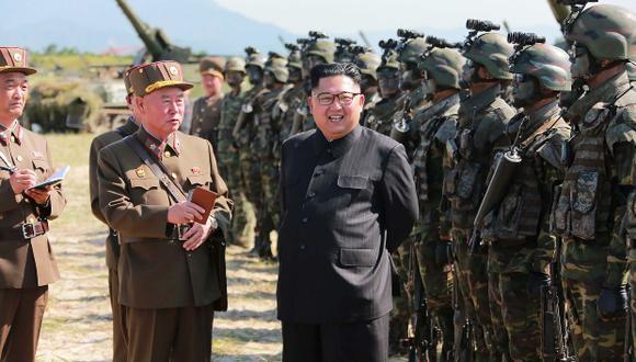 Kim Jong-un, líder de Corea del Norte. (Foto: AFP)