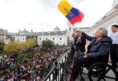 El presidente de Ecuador restablece su Gobierno en Quito tras cesar protestas