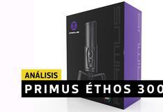 Primus Ethos300P - Análisis   El micrófono gamer que desborda elegancia