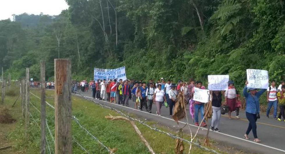 Este hecho se da luego de que los agricultores bloquearan un tramo de la vía Interoceánica en protesta por la muerte de dos cocaleros en una gresca con agentes de la Policía (Foto: cortesía)