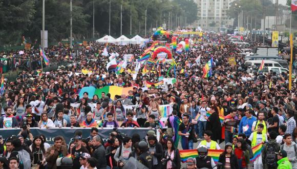 LGTB: el 49% de peruanos dice que tiene opinión favorable hacia los homosexuales