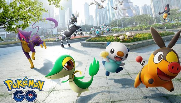 """Pokémon GO lanza nuevo evento llamado """"Celebración de Teselia"""". Conoce todos los detalles y aprovecha en capturar a las criaturas. (Foto: Pokémon)"""