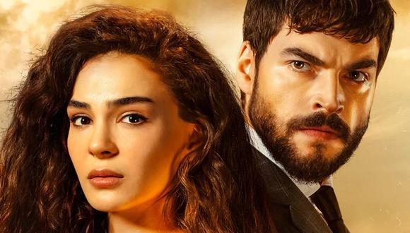 Reyyan y Miran son interpretados por los actores Ebru Sahin y Akın Akınözü (Foto: Hercai / Mia Yapım)