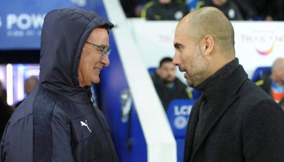 Guardiola se pronunció sobre salida de Ranieri del Leicester