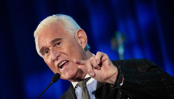 Ex asesor de Trump, Roger Stone, arrestado por caso de trama rusa. Foto: AFP