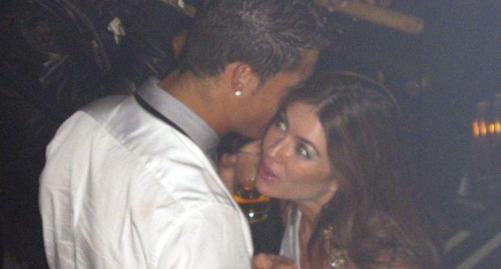Cristiano Ronaldo y Kathryn Mayorga en 2009. (Foto: AP)