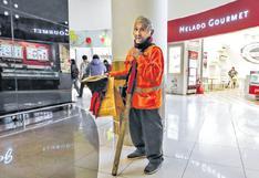 El mendigo que se quedó en el 'mall' de Salaverry [CRÓNICA]