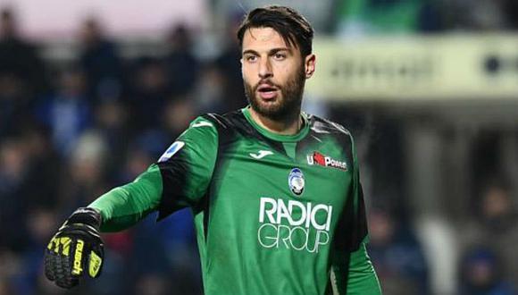 Marco Sportiello tiene contrato con Atalanta hasta junio del 2021. (Foto: EFE)