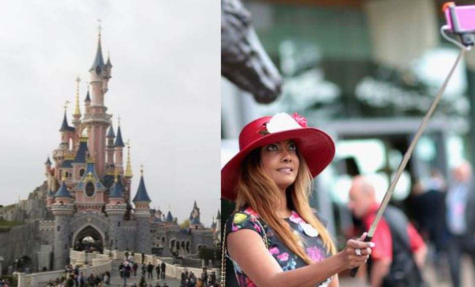 """Disney prohíbe """"palos para selfies"""" en todos sus parques"""
