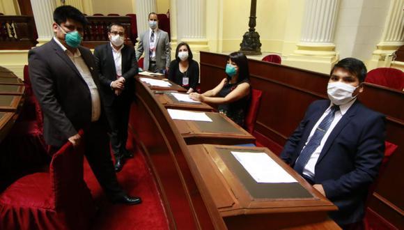 La bancada de Frente Amplio decidió el lunes solicitar la vacancia del presidente Martín Vizcarra. Aunque no todos sus integrantes estuvieron de acuerdo. Rocío Silva Santisteban y Mirtha Vásquez se opusieron. (Foto: Difusión)