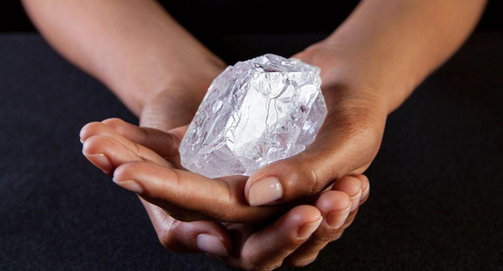 El diamante llegó a salir a subasta en el 2016 en la casa Sotheby's de Londres pero no halló comprador que quisiera pagar US$ 70 millones. (Foto: Sotheby's )