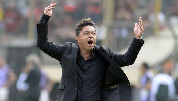 Marcelo Gallardo es uno de los entrenadores mejor cotizados de Sudamérica gracias a sus logros con River Plate. (Foto: AFP)