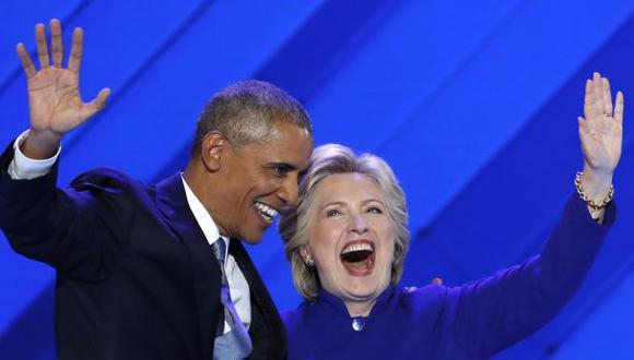 Los Obama acompañarán a los Clinton en el cierre de la campaña
