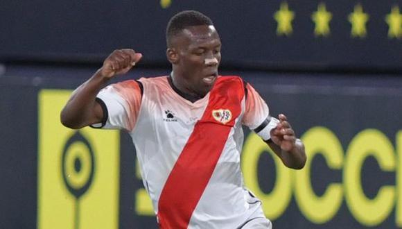 Luis Advíncula anotó el gol de la victoria reciente de Rayo Vallecano sobre Albacete. (Foto: Rayo Vallecano)