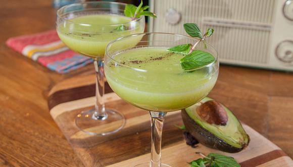 El aguacatona es un refrescante cóctel ideal para una tarde de verano. (Foto: Pernod Ricard)