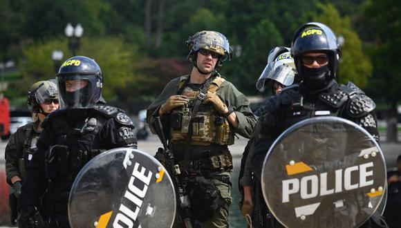 Tras el caso de Floyd, los demócratas buscaron realizar una reforma policial para evitar el abuso de algunos agentes. (Foto: Andrew Caballero-Reynolds / AFP).