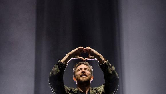 El DJ francés David Guetta durante el festival musical de Vieilles Charrues en julio del 2019. (Foto: Loic Venance para AFP.