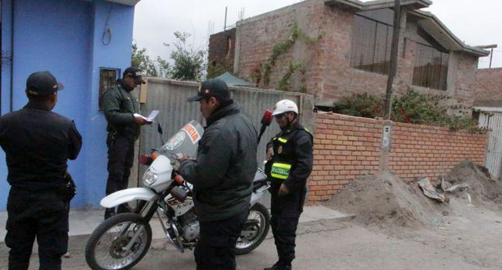 Arequipa: encuentran motos del serenazgo dentro de una vivienda