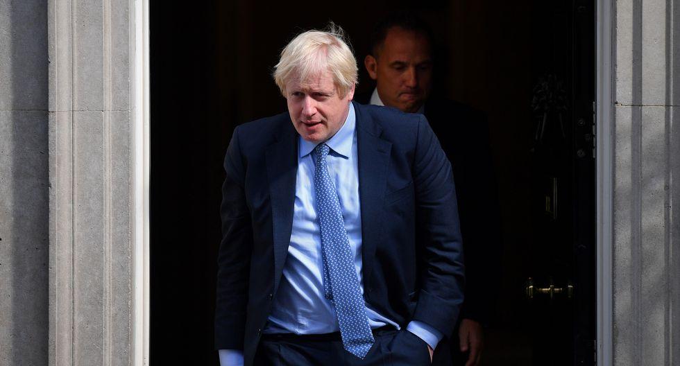 El primer ministro británico, Boris Johnson, se prepara para otro enfrentamiento en el parlamento este miércoles . (Foto: AFP)