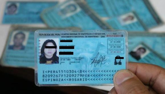 Para ciertos trámites es necesario identificar el número verificador del DNI, pero ¿cómo? (Foto: Reniec)
